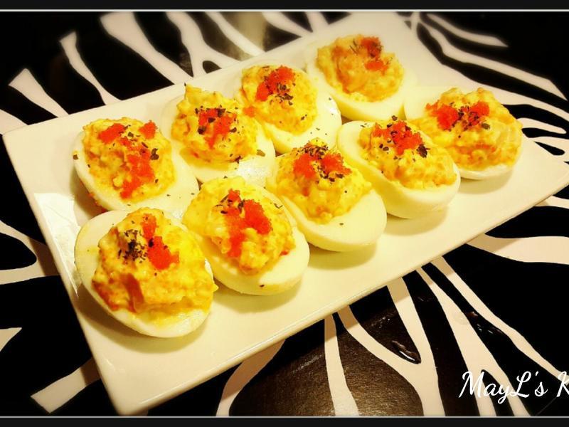 沙律蛋 Deviled eggs