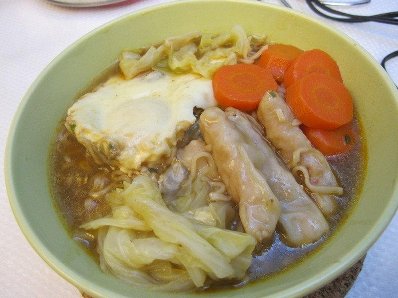 超營養蝦餃泡麵