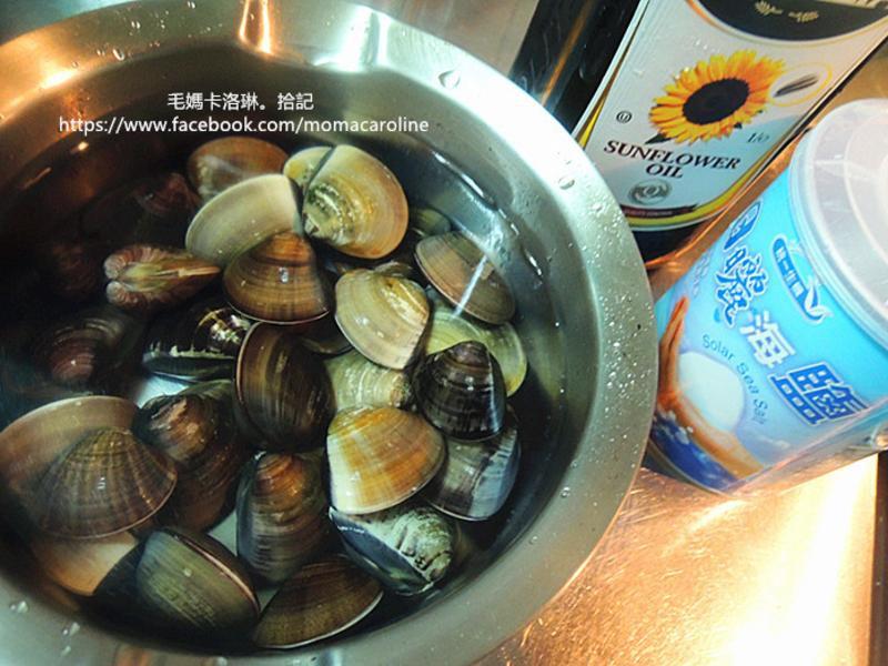 蛤蜊吐沙的妙方