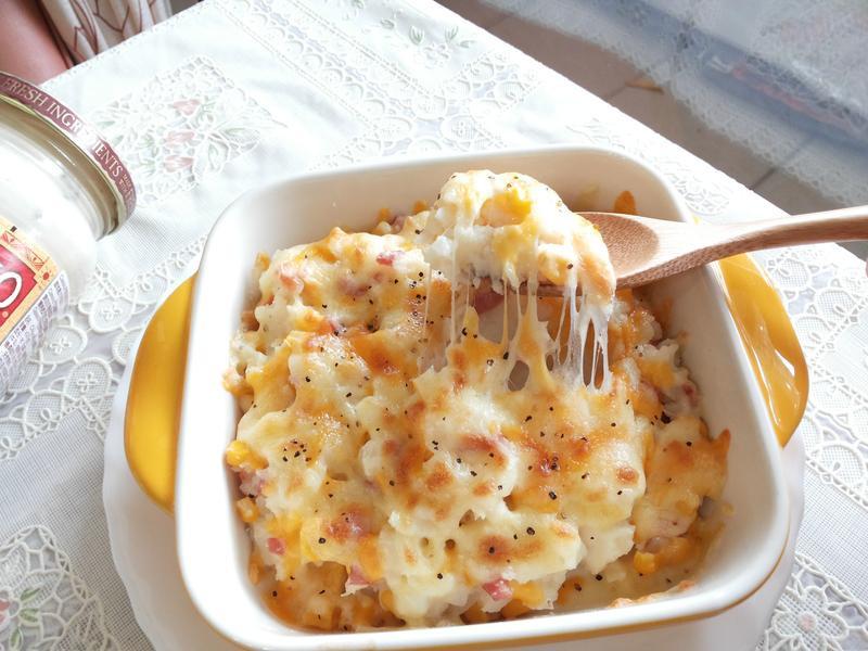 鮮奶起司焗馬鈴薯-CLASSICO義麵醬