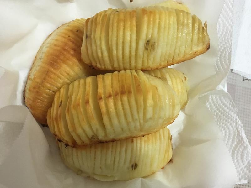 小烤箱~手風琴馬鈴薯