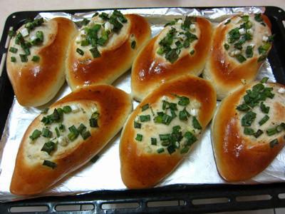 ♥我的手作料理♥ 蔥花麵包