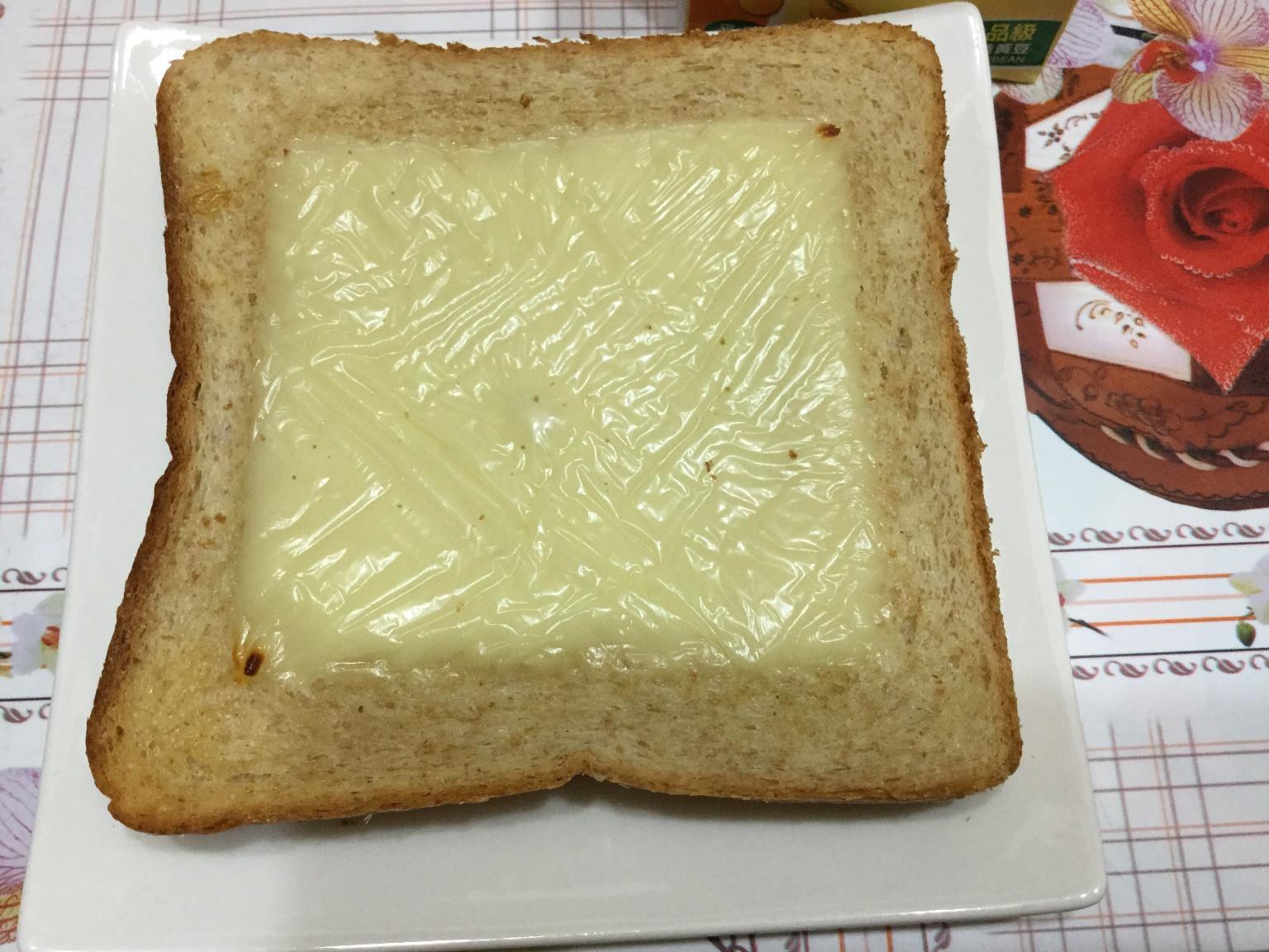早餐吐司輕鬆吃~奶油起司磚