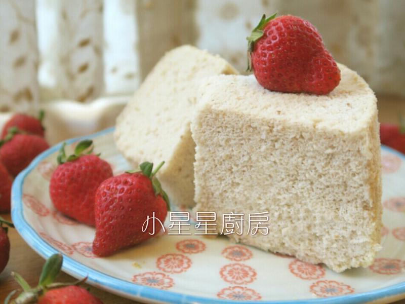 新鮮草莓燙麵戚風蛋糕