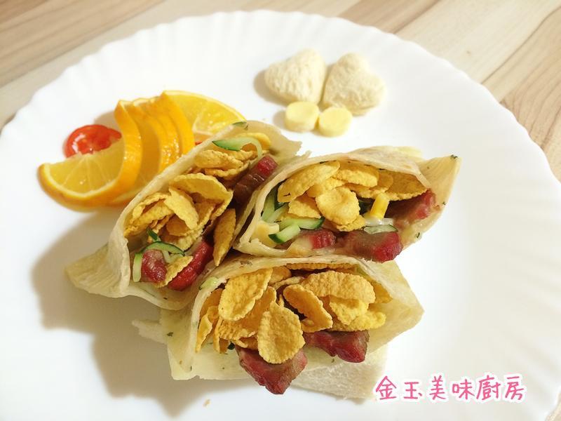 燒肉脆餅盒子『雀巢玉米脆片』