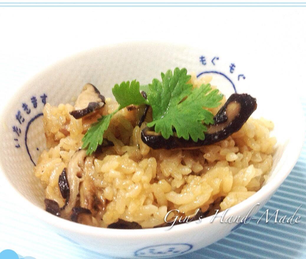香菇油飯(電鍋版)
