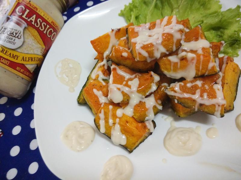 香烤義式白醬南瓜-CLASSICO義麵醬
