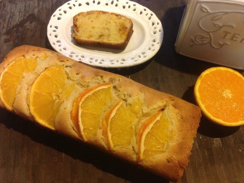 香橙磅蛋糕♥!!!