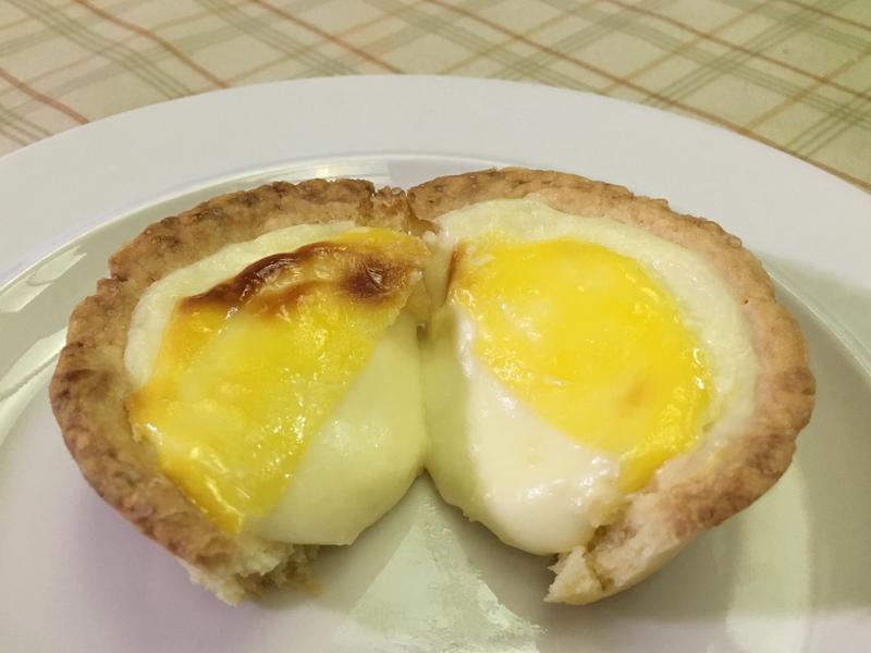 半熟起司塔❤️兩種口味三種吃法