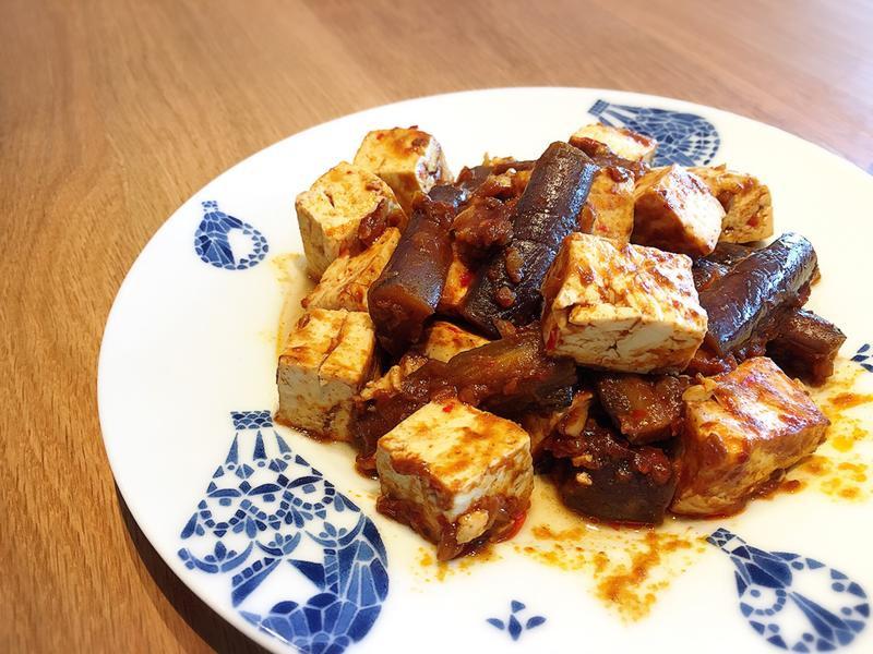 麻婆茄子豆腐【全聯快炒包料理】