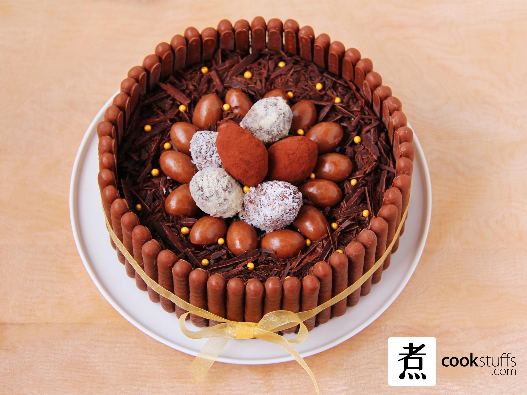 法式復活節朱古力蛋糕