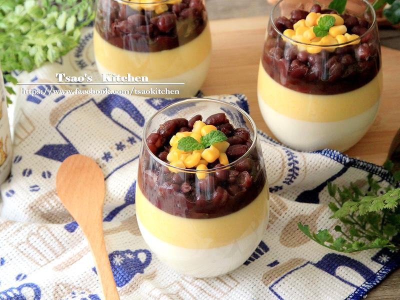玉米紅豆奶酪【全聯24節氣料理】