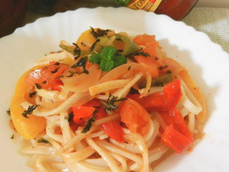 番茄羅勒義大利麵-CLASSICO義麵醬