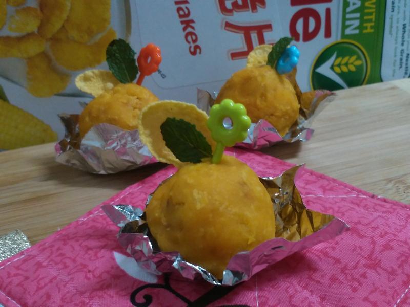 脆片薯丸子『雀巢玉米脆片』