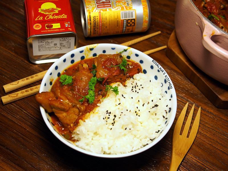 香料番茄燉雞:女人的補鐵聖品