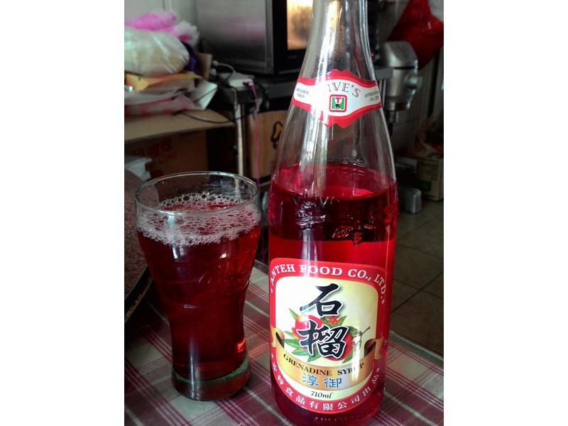 超好喝的飲品~石榴烏龍茶