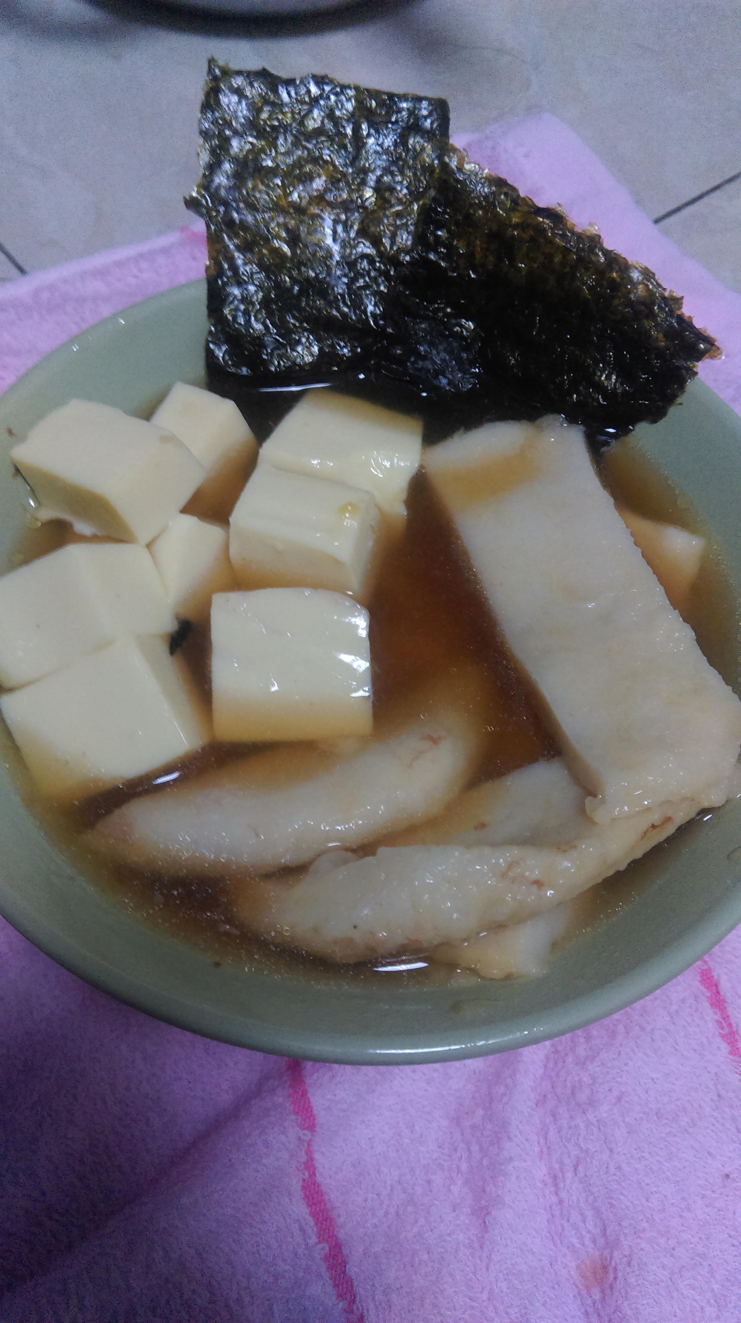 日式冷湯麵