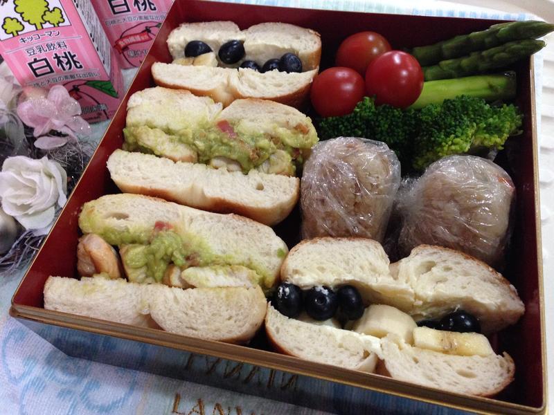 【花見野餐盒特集】貝果三明治(兩種口味)