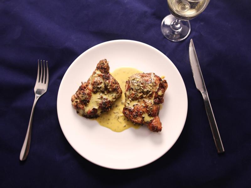 普羅旺斯香料燉雞腿