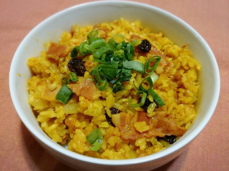 南瓜咖哩黃金炊飯(電子鍋)