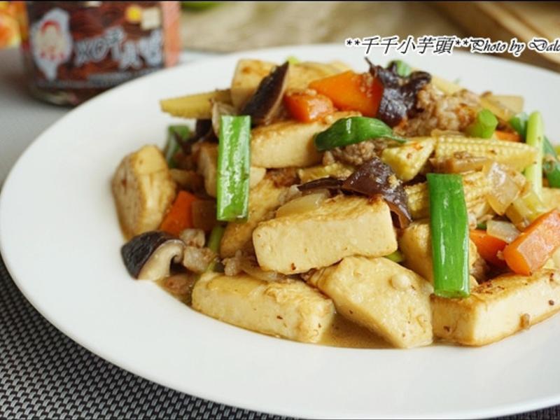 XO干貝醬燴豆腐
