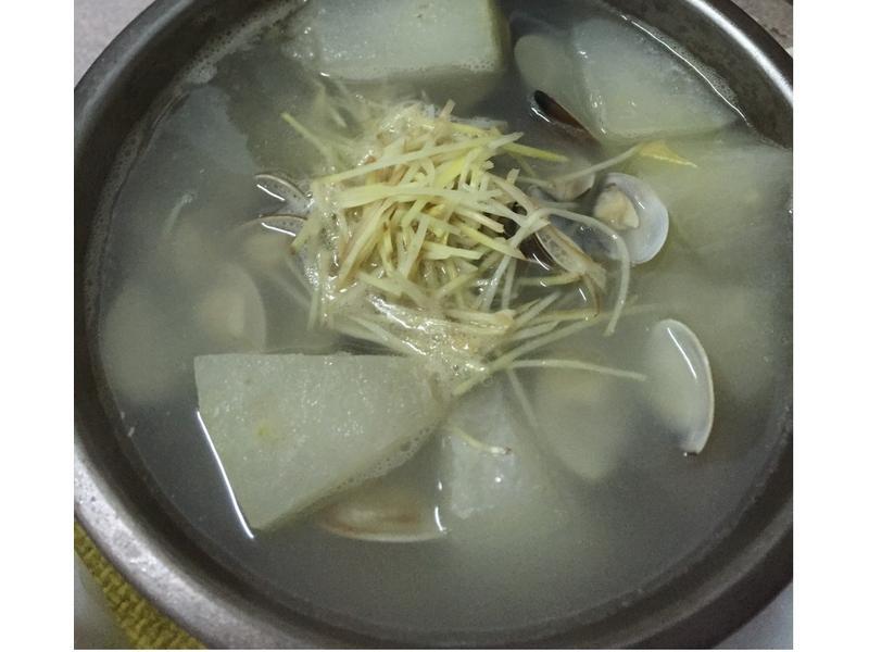 冬瓜排骨蛤蠣湯