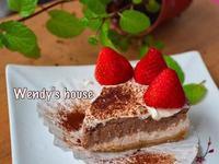 草莓X巧克力 乳酪蛋糕