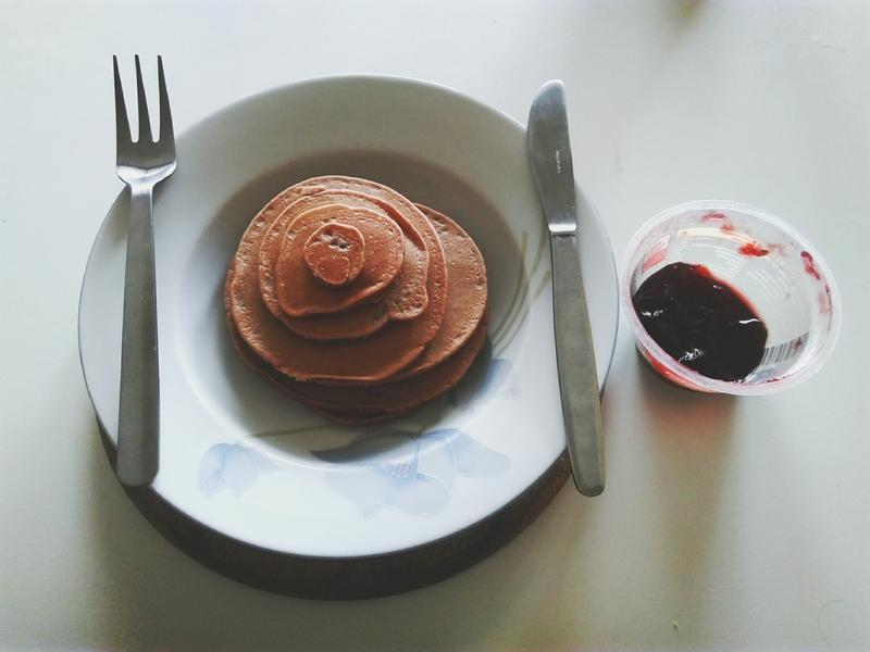 簡易甜點-巧克力鬆餅