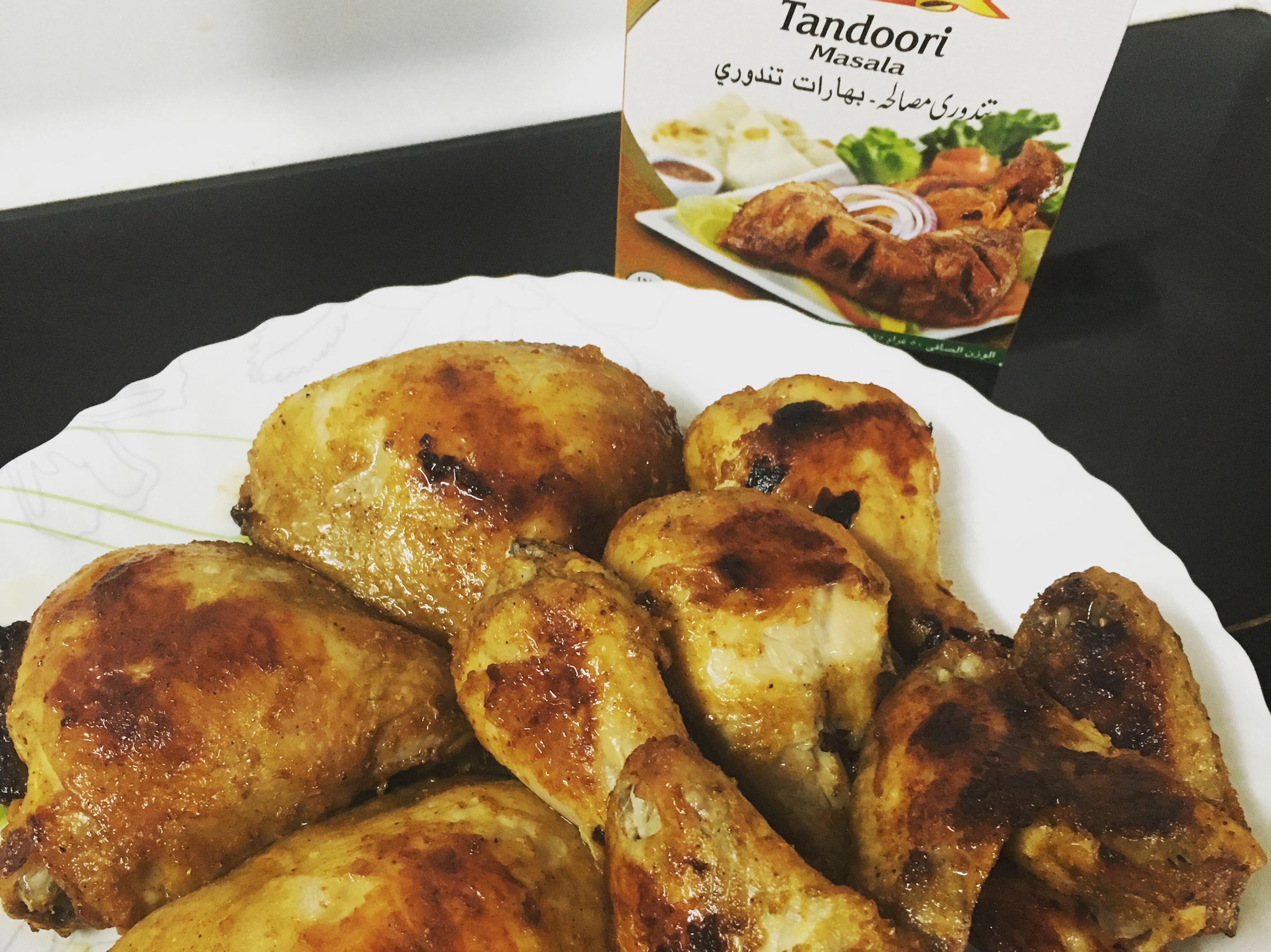 印度tandoori masala烤雞