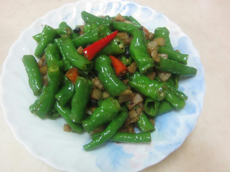 ♥我的手作料理♥ 豬油渣米椒