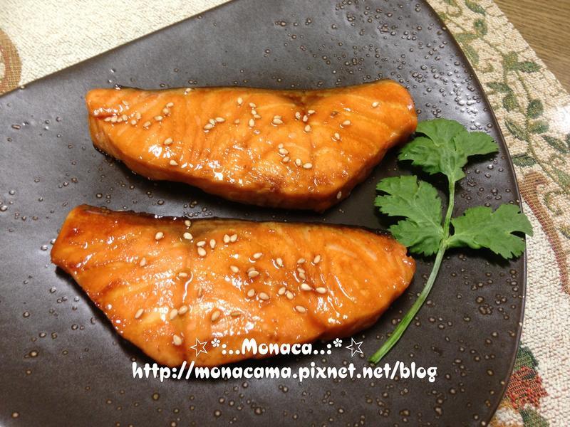 日式照燒鮭魚(鮭の照り焼き)