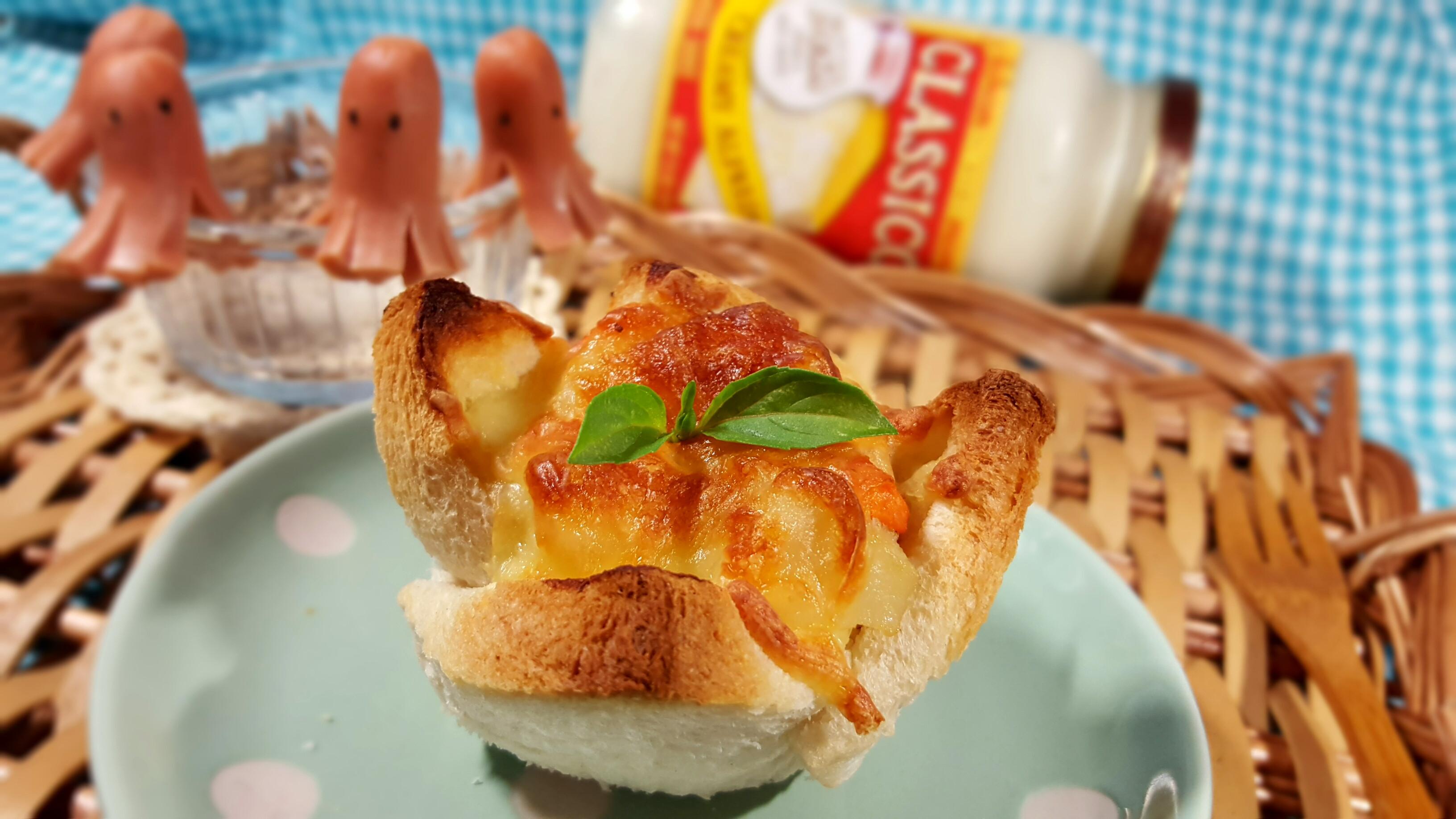 馬鈴薯白醬焗土司-CLASSICO義麵醬