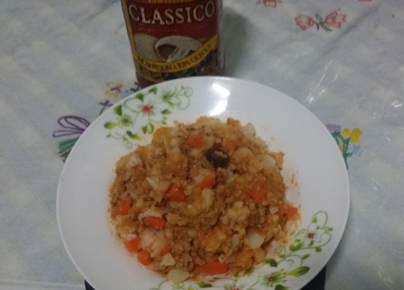 義式魔菇沙拉(CLASSICO義麵醬)