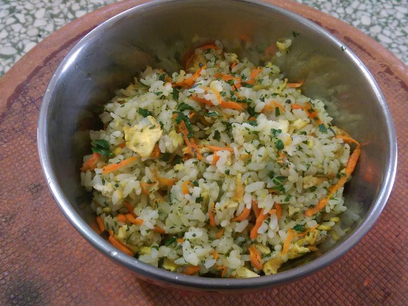 素香椿炒飯