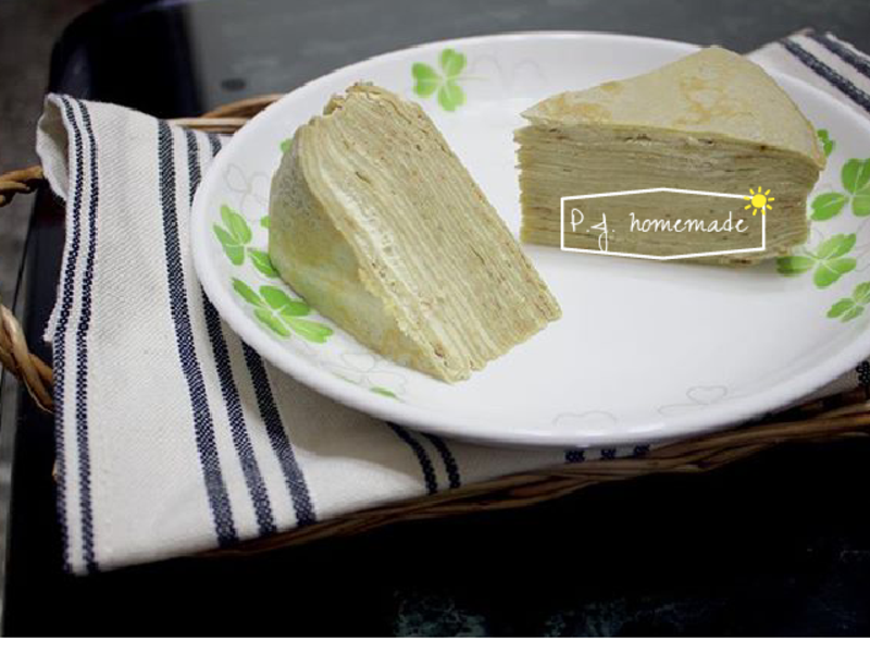 香草千層蛋糕