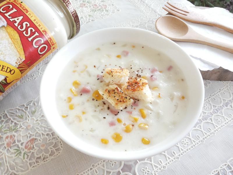 馬鈴薯玉米濃湯-CLASSICO義麵醬