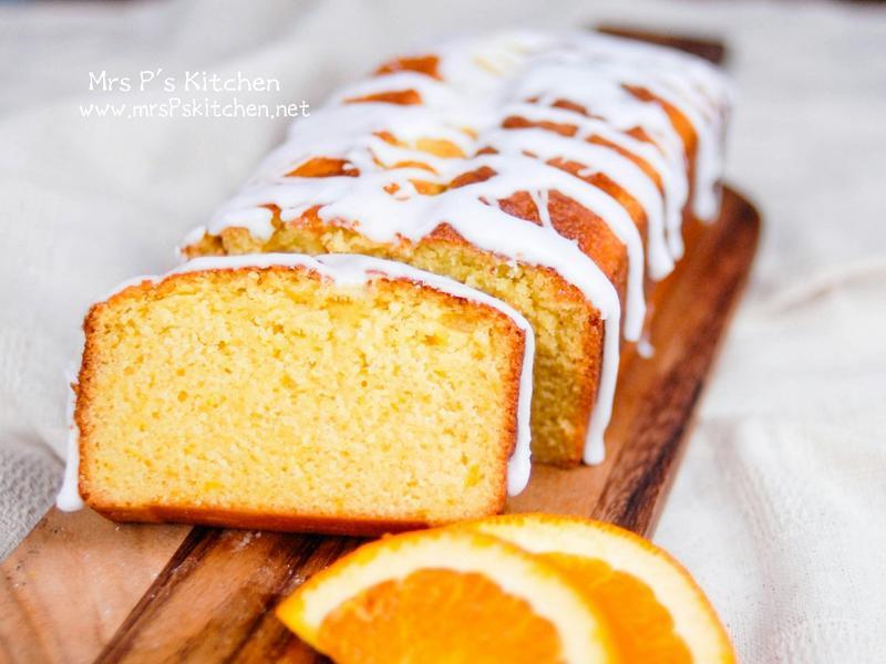 香橙磅蛋榚 【新手不敗】