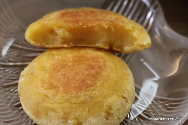 烤箱版地瓜麻糬餅