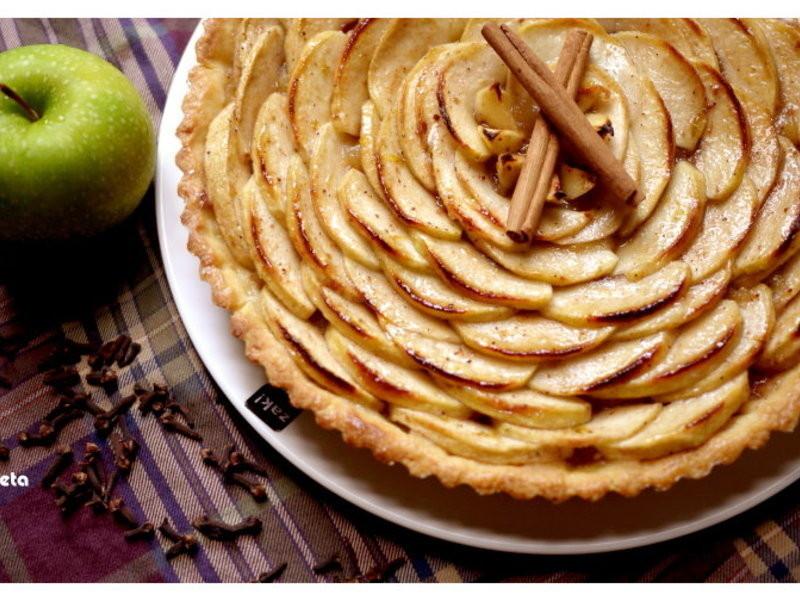 [阿妮塔♥sweet] 酸甜法式蘋果花塔,預約冬季溫暖。