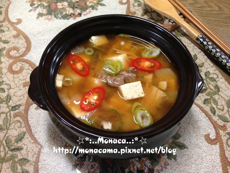 韓式大醬湯된장찌개