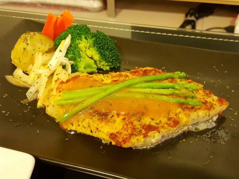 香煎桔醬鰈魚