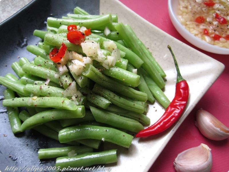 椰香蒜椒四季豆