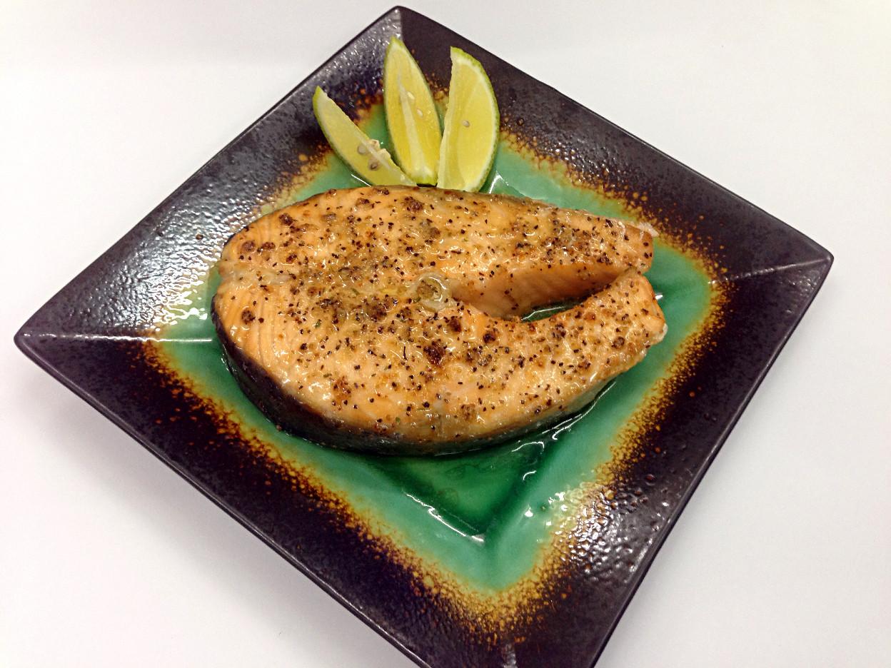 烤鮭魚【飛利浦氣炸鍋】