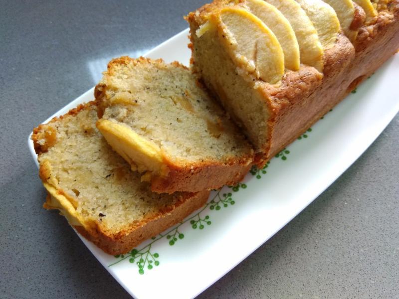 焦糖蘋果紅茶磅蛋糕