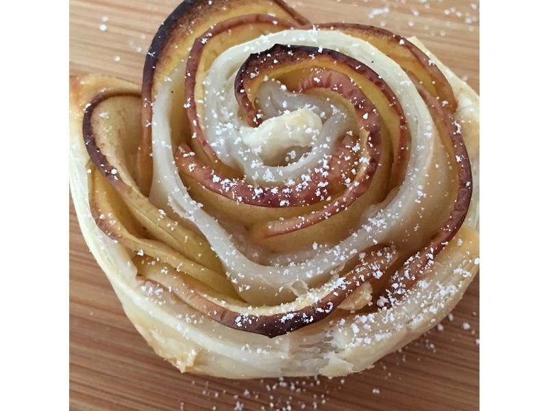 肉桂蘋果玫瑰🌹就是蘋果派