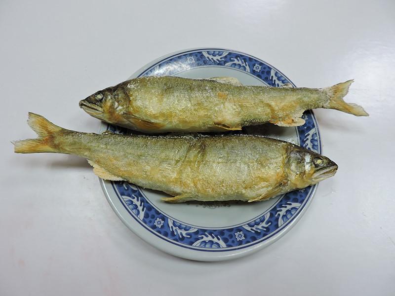 鹽烤晏香魚