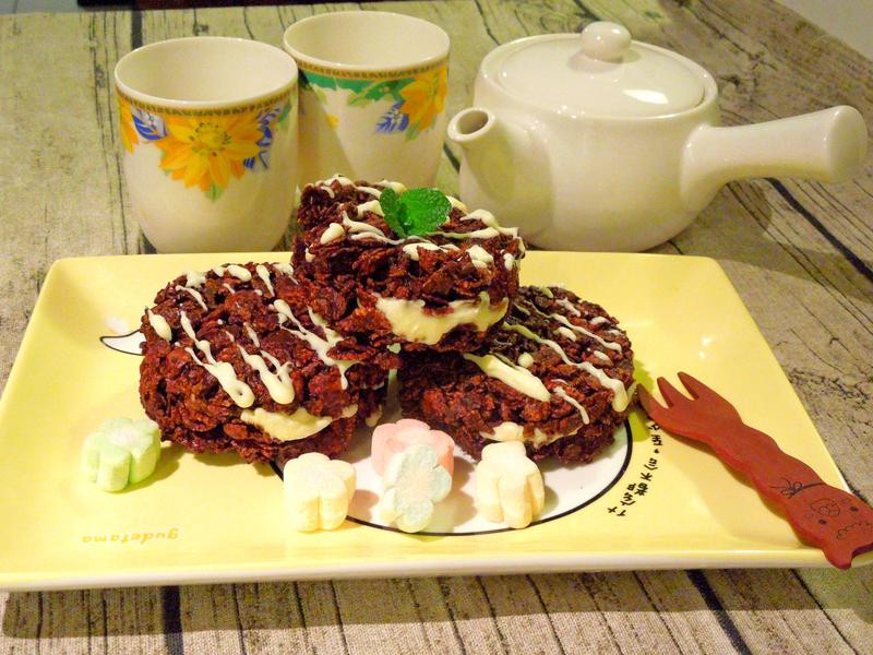 巧克力乳酪夾心脆片『雀巢玉米脆片』