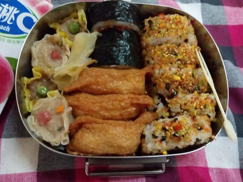 綜合壽司野餐盒_小七野餐趣