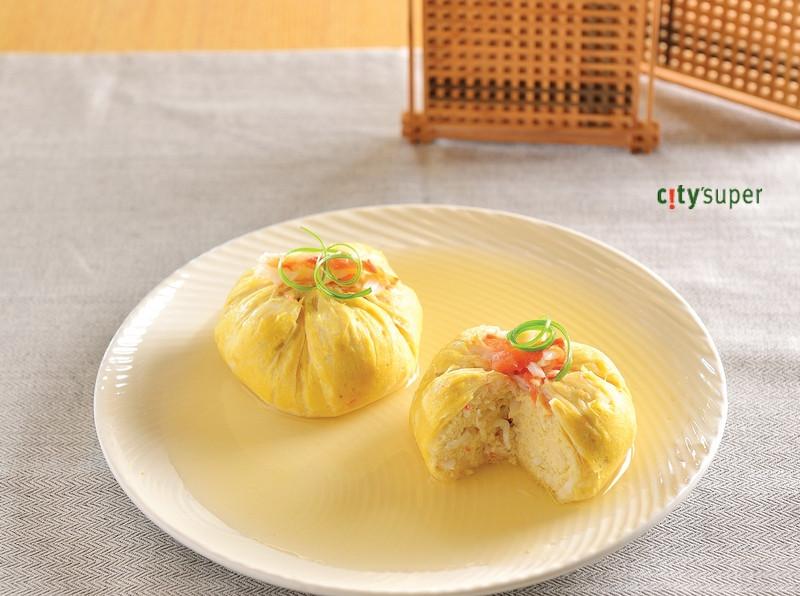 【清酒美食遊】松葉蟹肉豆腐佐柴魚汁