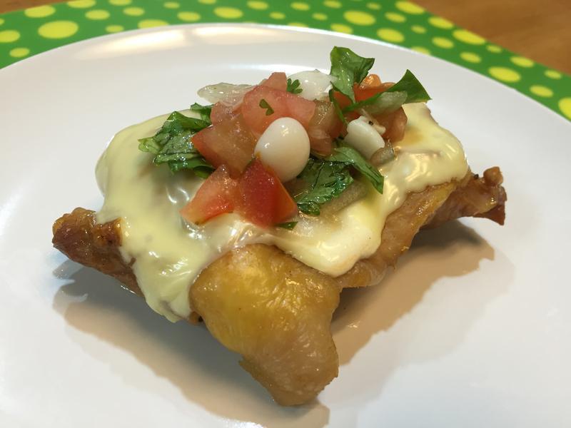 鮮菇莎莎醬起司烤雞腿-好菇道美味家廚